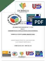 PRODUCTOS MOD 1 RIEB 3° y 4° 2012  PROFRA MARIBEL MENDOZA PANDO