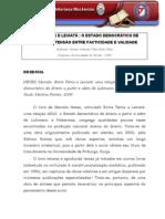 Resenha - Marcelo Neves - entre Temis e Leviatã