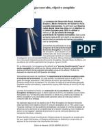 Energía renovableDIARIO DE NAVARRA