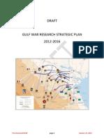 VA Gulf War Research Strategic Plan Revised DRAFT 2012Jan23