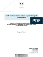 Etude Guide Interprete