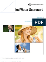 2011 Bottled Water Scorecard Report