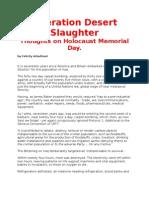 Operation Desert Slaughter