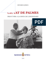 Pregón para la fiesta de l'Estendard de Palma por Eduardo Jordà
