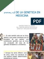 Impacto de La Genetica en Medicina Sep 2011