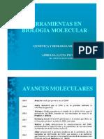 Herramientas en Bilogía Molecular (PCR)
