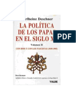 La Politica de Los Papas en El Siglo XX - Karlheinz Deschner parte 2