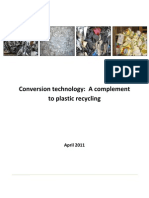 Conversion Technology - A Complement to Plastic Recycling - Apr 11