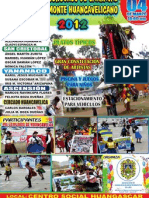 DÉCIMO CONCURSO DE CARNAVAL Y CORTAMONTE HUANCAVELICANO 2012