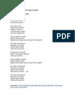 Lirik Lagu Judika Aku Yang Tersakiti