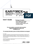 PX21 User Guide