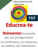 Proyecto iberoamericano de educación EDUCREA-te