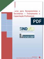 Curso para Recepcionistas e Secretárias 2010