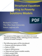 _Applying Structural Equation Modeling to POvert Solutions Models