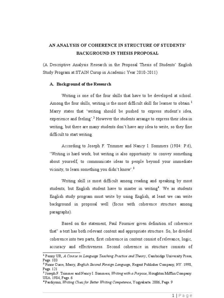 Sample Explanatory Essay An Analysis Of Coherence And Cohesion In Writing Background For An Analysis  Of Coherence And Cohesion Persuasive Essay Sample Paper Essay Thesis  American Proofread Essays also Research Essay Writing  Essay Thesis Essay Thesis What Is Thesis In Essay Co Writing A  Globalization Essays