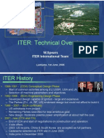 ITER Technical Overview