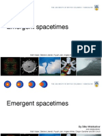 Silke Weinfurtner- Emergent spacetimes