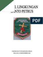 Profil Lingkungan St. Petrus