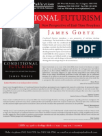 CONDITIONAL FUTURISM by James Goetz