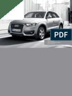 Audi Q3 Brochure UK Version