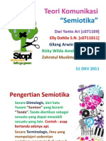 SEMIOTIKA, Teori Komunikasi