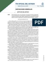 BOE-A-2012-1238 Fin Incentivos Fuentes de Energias Renovables