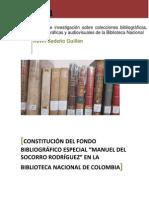 Becas de investigación Biblioteca Nacional 2011. Versión 1.3