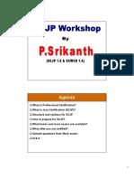 Scjp Workshop manual