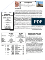 St. Michael's January 22, 2012 Bulletin