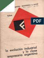 Fichas de Investigación Económica y Social, nº 01, abril 1964