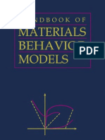 Materials Behaviour