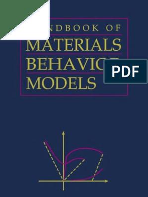 Materials Behaviour | Plasticity (Physics) | Deformation