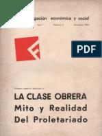 Fichas de Investigación Económica y Social, nº 03, septiembre 1964