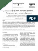 Strategic Profiles and Internet Performance