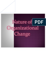 Nature of Organizational Change