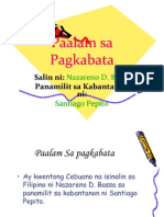 Power Point Paalam Sa Pagkabata