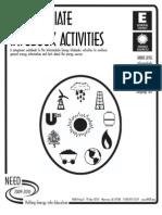 Intermediate Infobook Activities