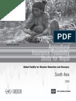 Nepal_AgricInsuranceFeasibilityStudy