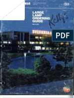 Sylvania 1982 Large Lamp Ordering Guide