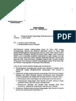 Surat Edaran Mendiknas No 70a_MPN_SE_2010