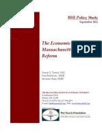 Romney Care - BHI Mass Healthcare Econ 2011-0915