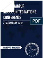 Delegate Handbook - IIT KGP MUN 2012