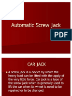 Automatic Screw Jack