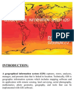 Geographical Information System (Gis)