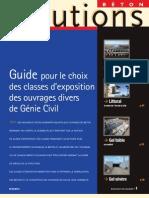 Guide choix classes exposition béton