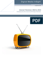 Internet Television 2010 to 2014