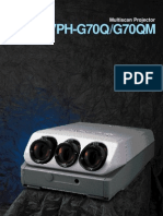 SonyG70 Brochure