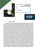 DESCARTES, Discurso del método, II, IV