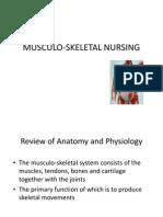 Nursing Musculoskeletal