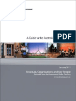 A Guide to the Australian Government - January 2011 3